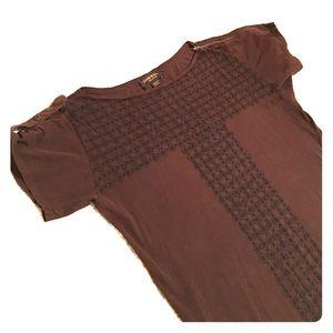 Diesel Black Gold Tops - Diesel Tee shirt dress