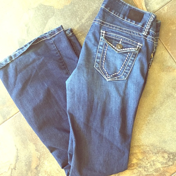 89% off YMI Denim - YMI flare jeans from Jessica's closet on Poshmark