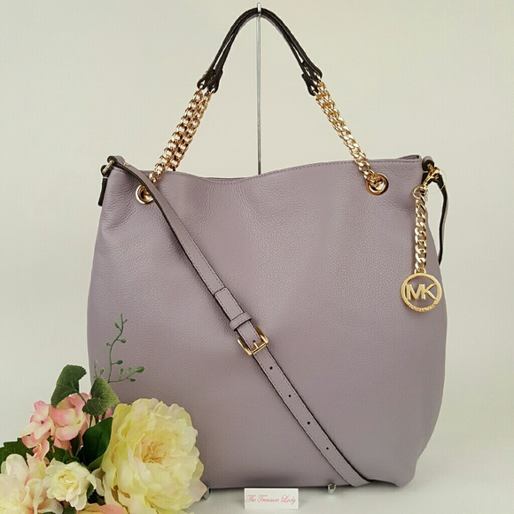 b0a4aed31508 Michael Kors Jet Set Chain Shoulder Tote Handbag