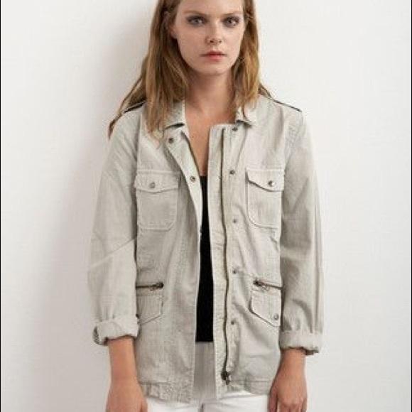 a6818b9a6d6b3d Velvet Jackets & Coats   Lily Aldridge Ruby Jacket P Stone   Poshmark