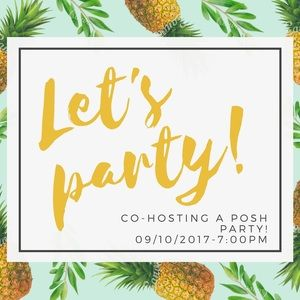Anthropologie Dresses & Skirts - Co-hosting a Posh Party on 09/10/2017 @7:00pm EST