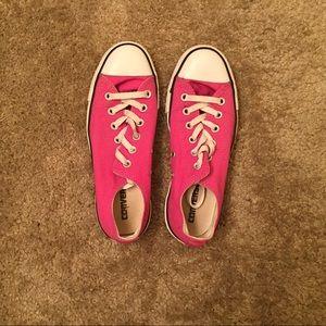 Converse Shoes - Fuschia Pink Converse