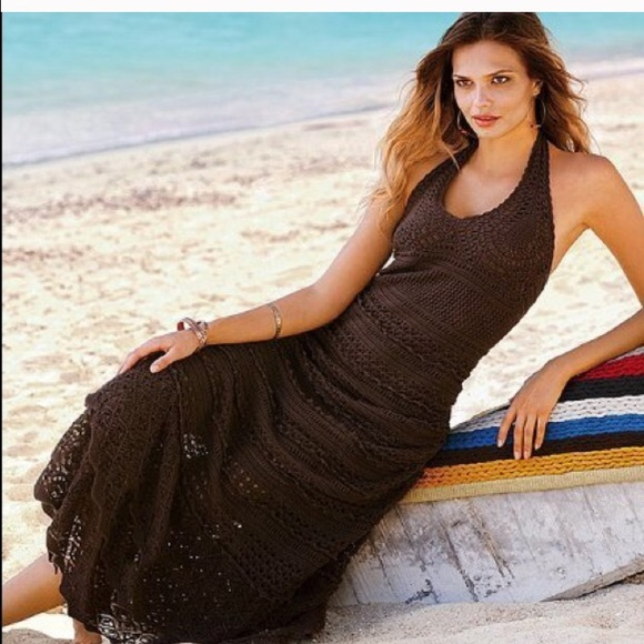 Victoria's Secret Crochet Maxi Dress
