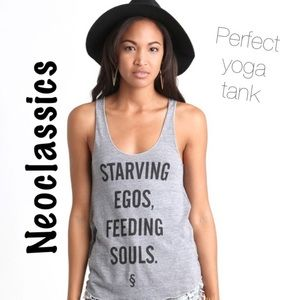 Neoclassics Tops - Feed Your Soul with this Perfect Yoga Tank ❤️