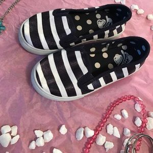 Children's Place Other - Girls Striped Sneakers