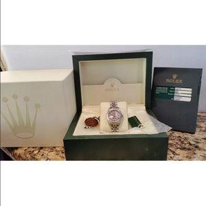 Rolex Accessories - Ladies Rolex Date Just Like New