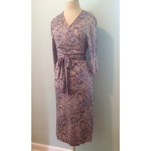 Dresses & Skirts - Paul & Joe silk knit wrap dress