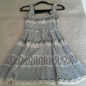 Lace Dress with back details