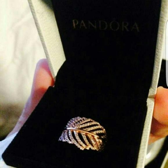 30a481fc2 best pandora light as a feather ring rose gold b0951 c70d6
