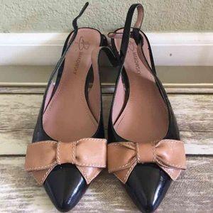 b. makowsky Shoes - B. Makowsky Kitten Heel Bow Pumps