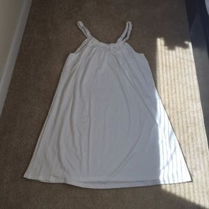 Dresses & Skirts - Sexy Off white A line Slip Dress