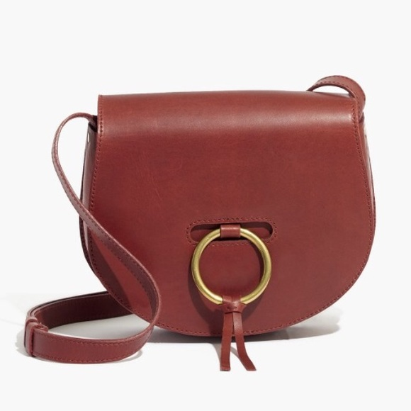 1d2c06445182 Lisbon o-ring saddle bag in leather