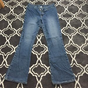 Motherhood maternity boot cut jeans size medium