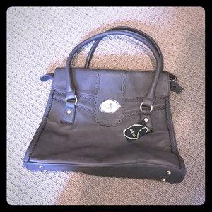NWT OASIS handbag with scalloped trim