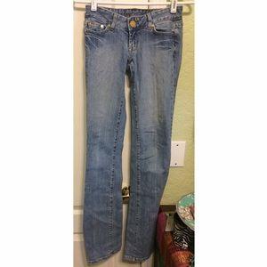 EUC Marciano Straight Skinny Jeans size 24/00/XXS