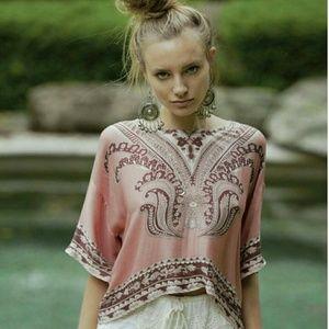 Arnhem Tops - Arnhem Paloma blouse in blush size L (BNWT)