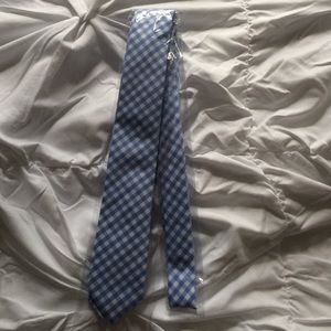The Tie Bar Other - Blue gingham tie