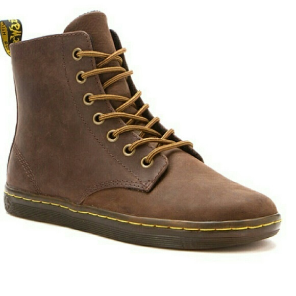 16e65e933e2 Dr. Martens - Tobias Boots - Brown Leather