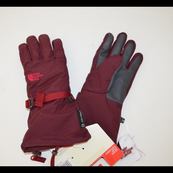 45cbf292a New north face revelstoke etip gloves size M NWT