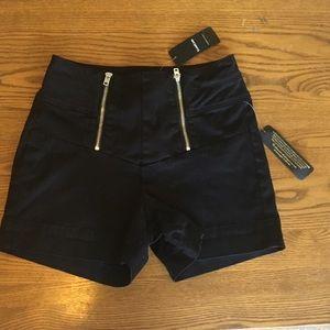 NWT BEBE High Waisted Shorts