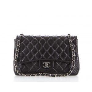 0863bdd56344 CHANEL Bags | Black Caviar Jumbo Single Flap Bag | Poshmark