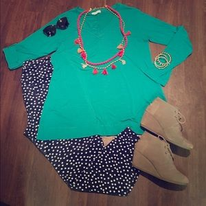 Thyme and Honey Green Tunic