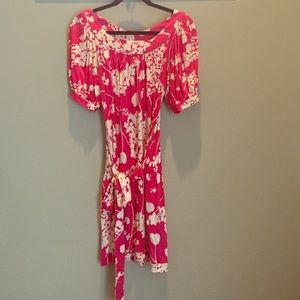 Tibi Dresses & Skirts - Tibi pink floral dress