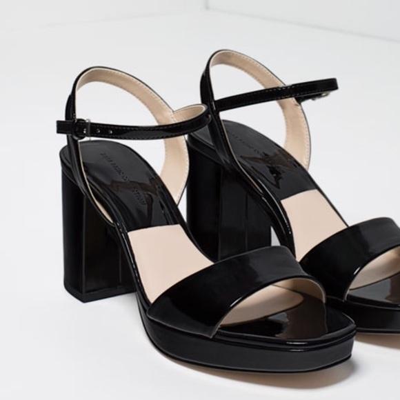 195471609c80 Metallic Platform Sandals 🎉Sale. NWT. Zara