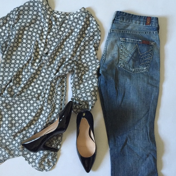 7 For All Mankind Denim - 7 For All Mankind A pocket studded jeans 26x32