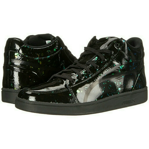 Alexander McQueen for Puma holographic sneaker new