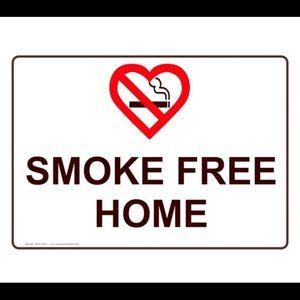 Other - Smoke Free 😊