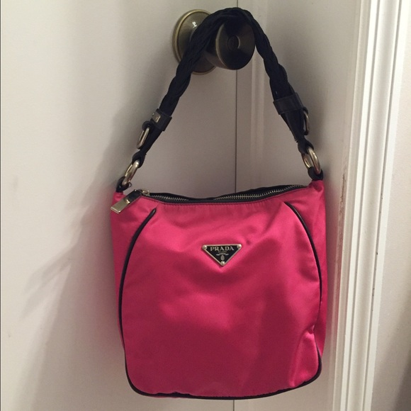 7bc1fe147cc4 Prada Bags | Rare Hot Pink Shoulder Bag | Poshmark