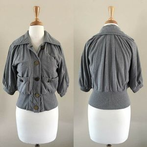 AX Button-Down Jacket-Small