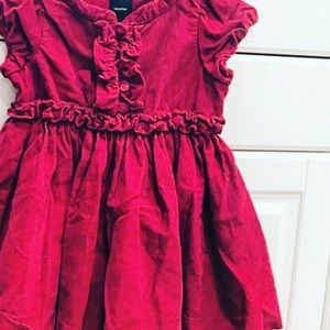 GAP Other - GAP red baby girl dress!
