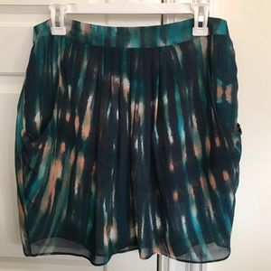 Forever 21 multicolor skirt with pockets