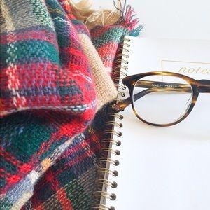 ZARA Tartan blanket scarf