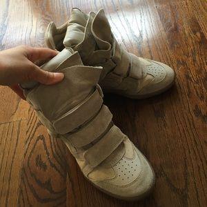 Isabel Marant classic wedge sneaker