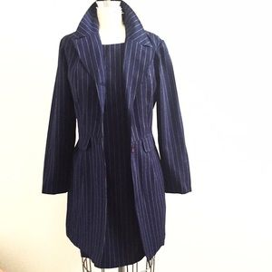 Alyn Paige Dresses & Skirts - Office Style Pinstripes Jacket and Dress Set!