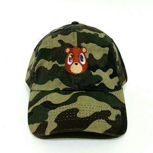 aebcacbf1b618 Accessories - Kanye Bear Hat  camo