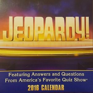 Other - 2016 Jeopardy! Day-to-Day Calendar