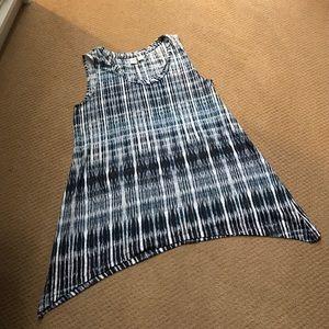Artisan NY Tops - Artisan long and sleeveless T-shirt