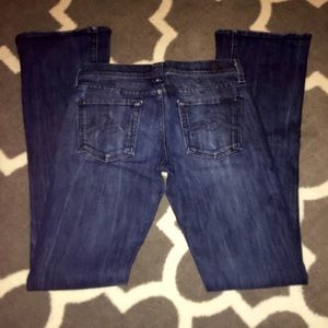 7 for all Mankind denim jeans size 26