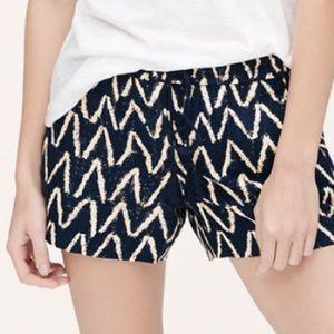 Loft Zig Zag Shorts