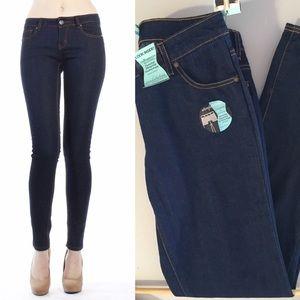RESTOCKED! Slimming Skinny Dark Blue Jeans