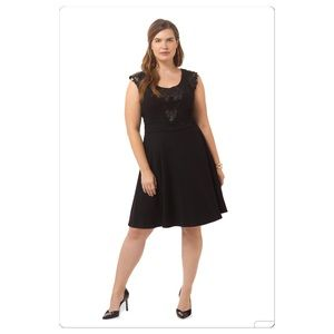 City Chic Dresses & Skirts - NWT Chic City Lady Midnight Black Dress in 22/24W