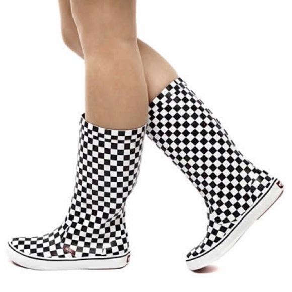 6821a6b494 VANS Checkered Rainfall Boots