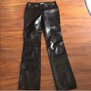 Celine lambskin leather pants sz 38⬇️⬇️⬇️⬇️