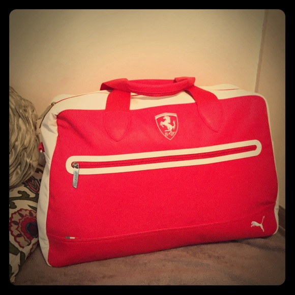 302e0d51e67 Puma Bags   Scuderia Ferrari Duffel Bag   Poshmark