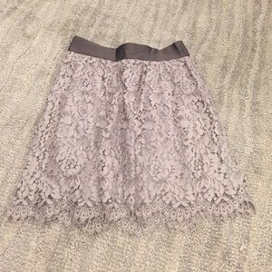 J.Crew Floral Lace Mini Skirt