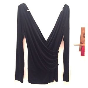 Laundry by Design Tops - Laundry by Design Black Blouse